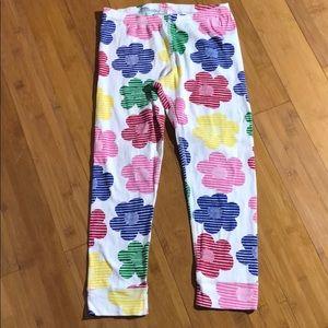 hanna andersson floral pajama bottom multi 140(10)